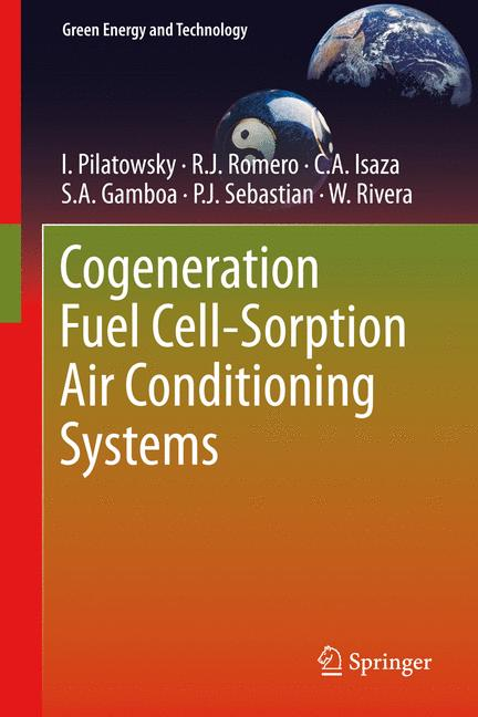 Cover of 'Cogeneration Fuel Cell-Sorption Air Conditioning Systems'