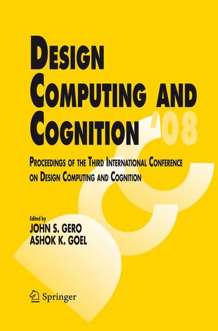 Cover of 'Design Computing and Cognition '08'
