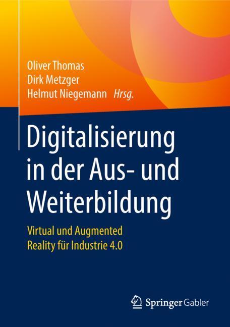 Cover of 'Digitalisierung in der Aus- und Weiterbildung'