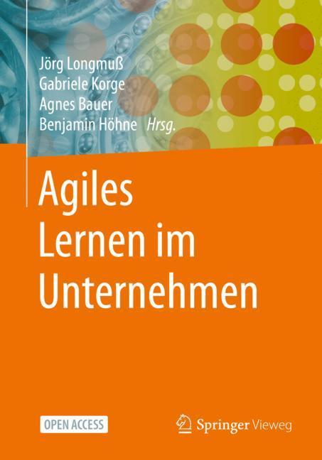 Cover of 'Agiles Lernen im Unternehmen'