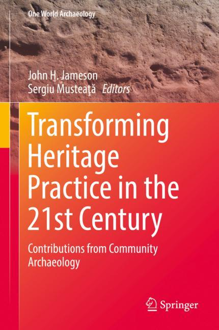 Cover of 'Transforming Heritage Practice in the 21st Century'
