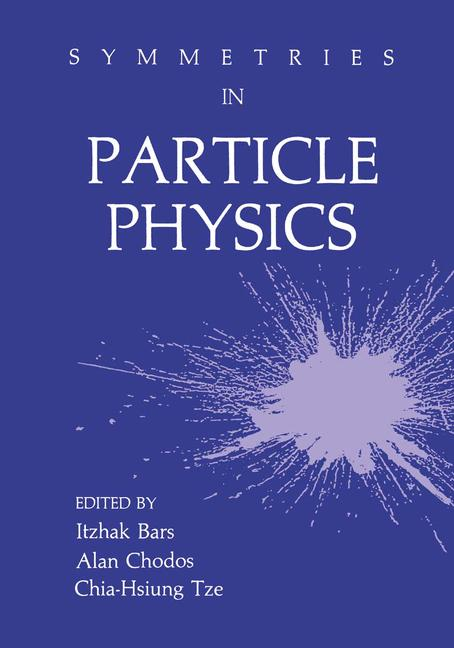 Cover of 'Symmetries in Particle Physics'
