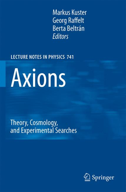 Cover of 'Axions'