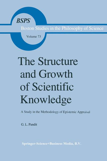 Cover of 'The Structure and Growth of Scientific Knowledge'