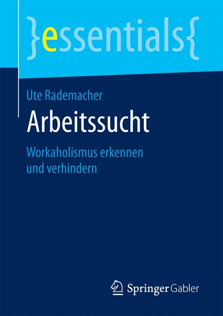 Cover of 'Arbeitssucht'