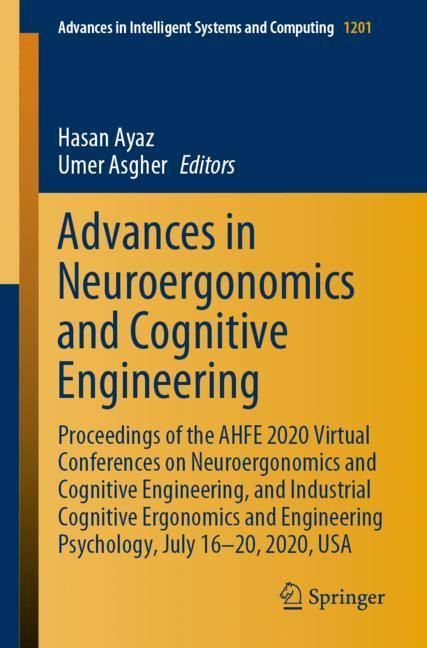 Cover of 'Advances in Neuroergonomics and Cognitive Engineering'