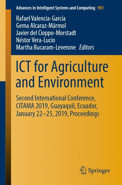 Cover of 'ICT for Agriculture and Environment'