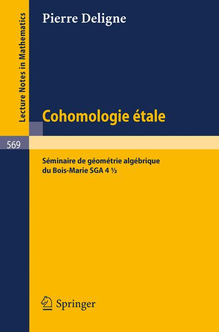 Cover of 'Cohomologie Etale'