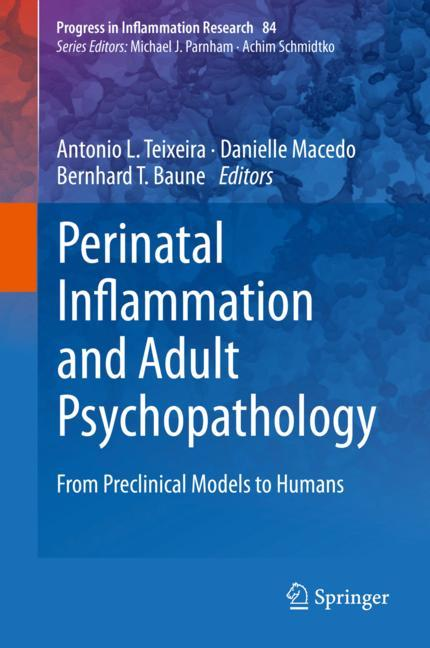 Cover of 'Perinatal Inflammation and Adult Psychopathology'