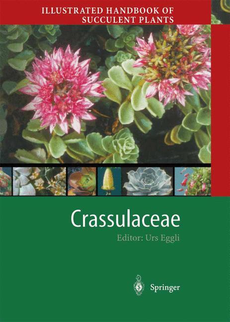Cover of 'Illustrated Handbook of Succulent Plants: Crassulaceae'