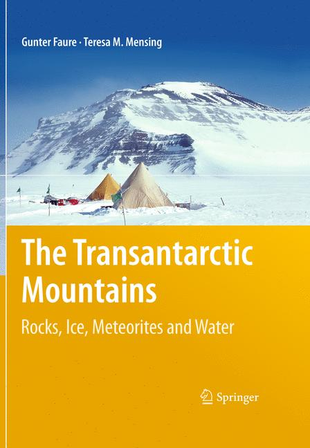 Cover of 'The Transantarctic Mountains'