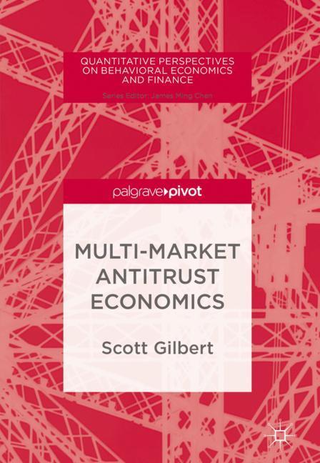 Cover of 'Multi-Market Antitrust Economics'