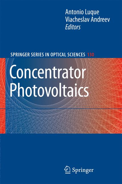 Cover of 'Concentrator Photovoltaics'