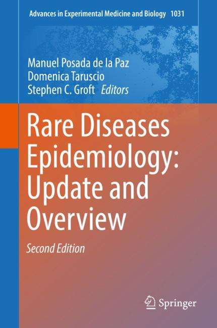 Cover of 'Rare Diseases Epidemiology: Update and Overview'