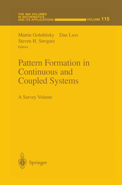 Cover of 'Pattern Formation in Continuous and Coupled Systems'