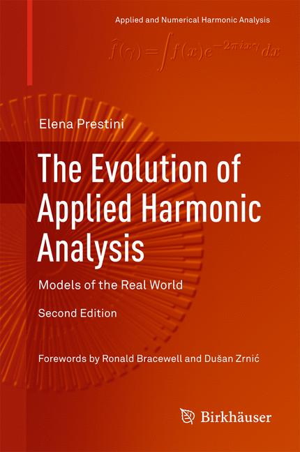 Cover of 'The Evolution of Applied Harmonic Analysis'