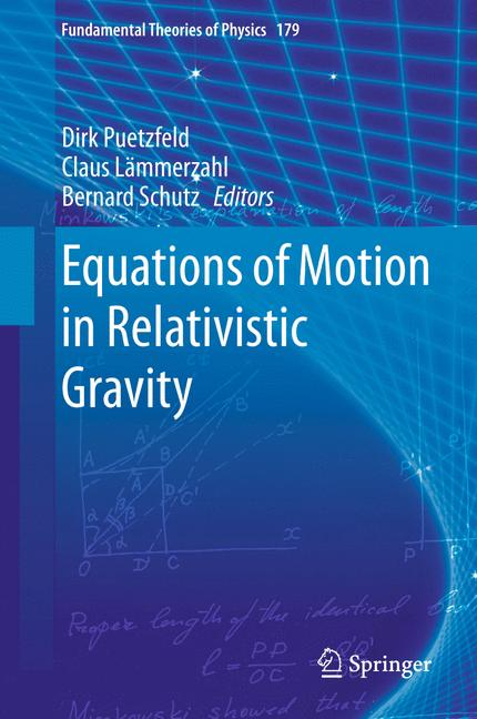 Cover of 'Equations of Motion in Relativistic Gravity'