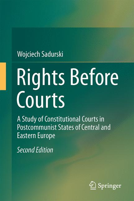 Cover of 'Rights Before Courts'