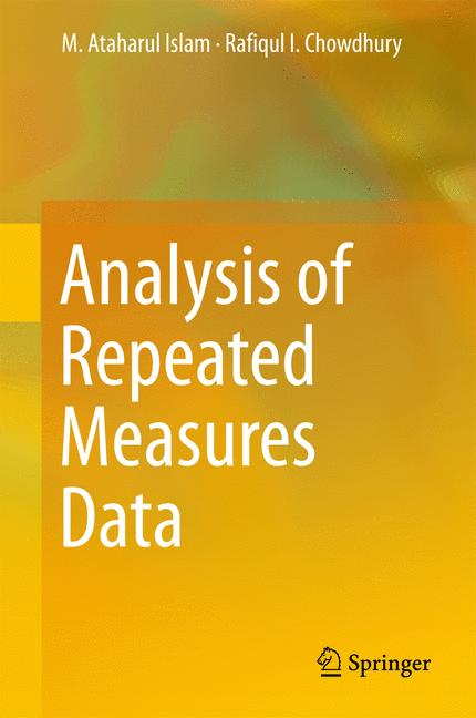 Cover of 'Analysis of Repeated Measures Data'