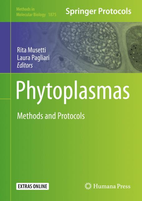 Cover of 'Phytoplasmas'