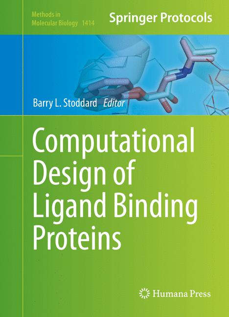 Cover of 'Computational Design of Ligand Binding Proteins'