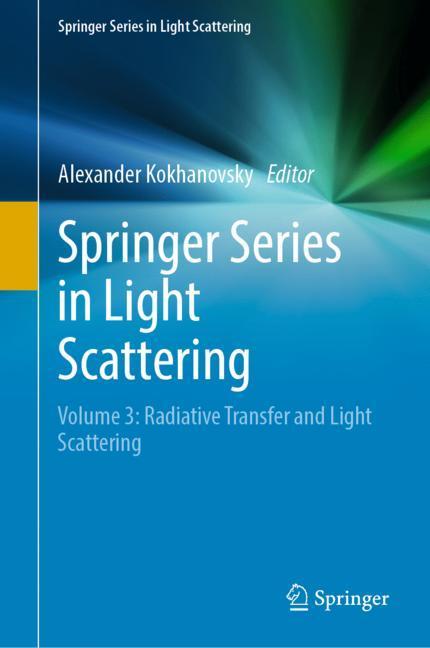Cover of 'Springer Series in Light Scattering'