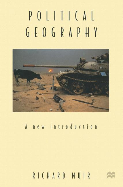 Cover of 'Political geography : a new introduction'