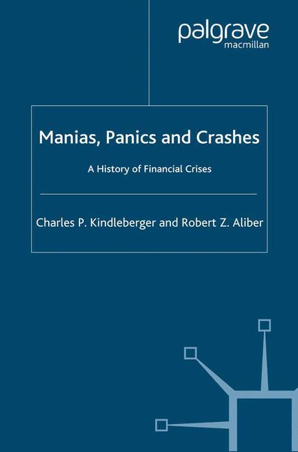 Cover of 'Manias, Panics and Crashes'