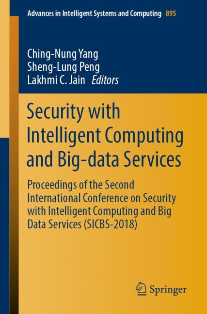 Cover of 'Security with Intelligent Computing and Big-data Services'
