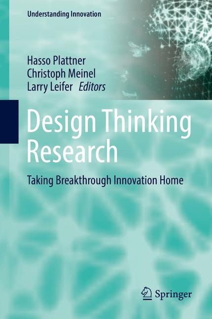 Cover of 'Design Thinking Research'
