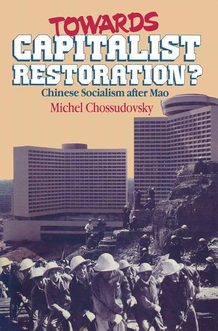 Cover of 'Towards Capitalist Restoration?'