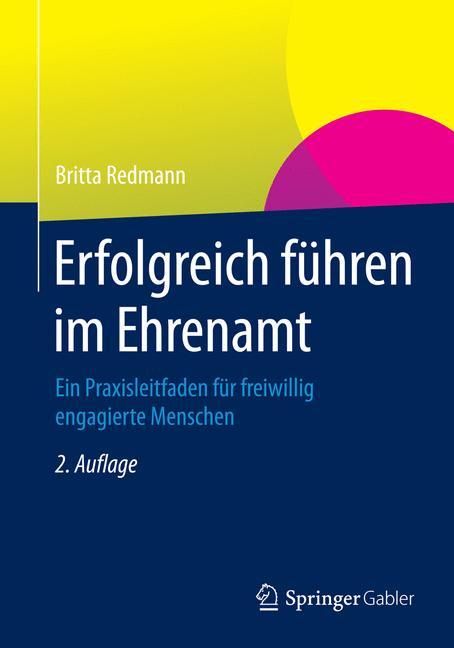 Cover of 'Erfolgreich führen im Ehrenamt'