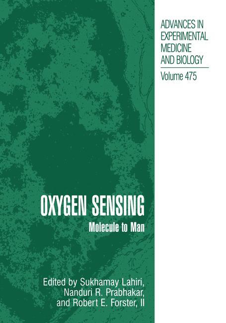 Cover of 'Oxygen Sensing'