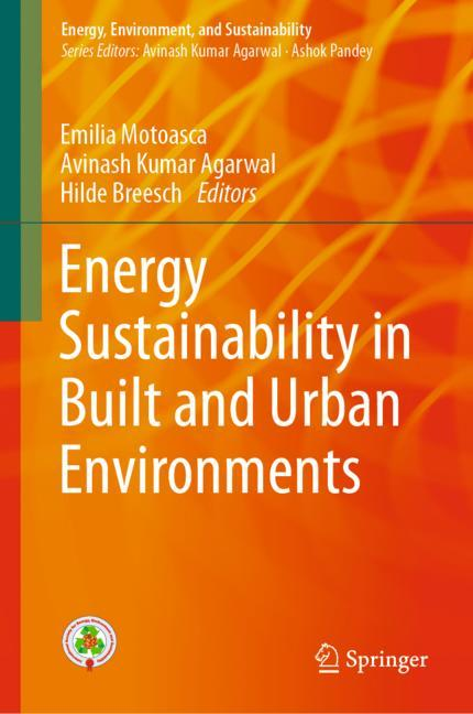 Cover of 'Energy Sustainability in Built and Urban Environments'
