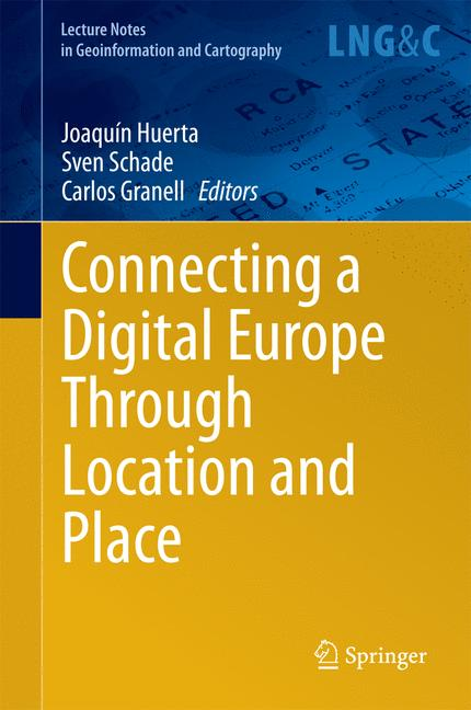 Cover of 'Connecting a Digital Europe Through Location and Place'