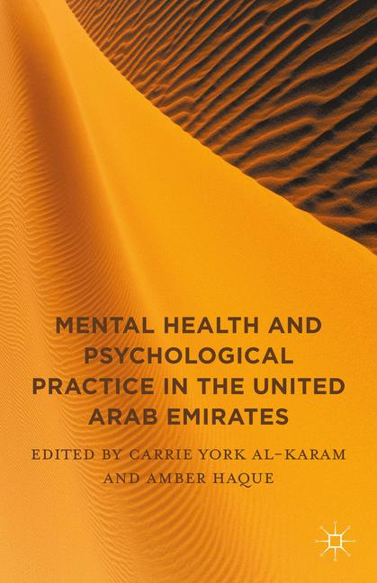 Cover of 'Mental Health and Psychological Practice in the United Arab Emirates'