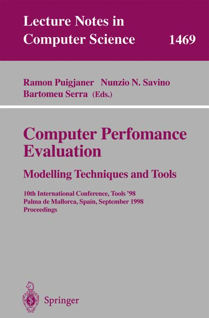 Cover of 'Computer Performance Evaluation'