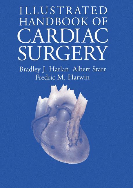 Cover of 'Illustrated handbook of cardiac surgery'