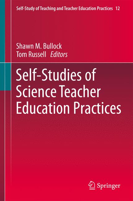 Cover of 'Self-Studies of Science Teacher Education Practices'