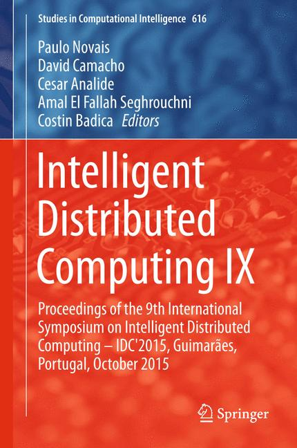 Cover of 'Intelligent Distributed Computing IX'