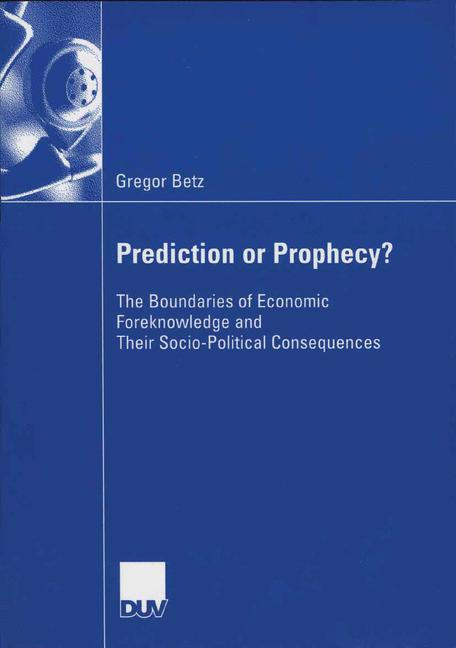 Cover of 'Prediction or Prophecy?'
