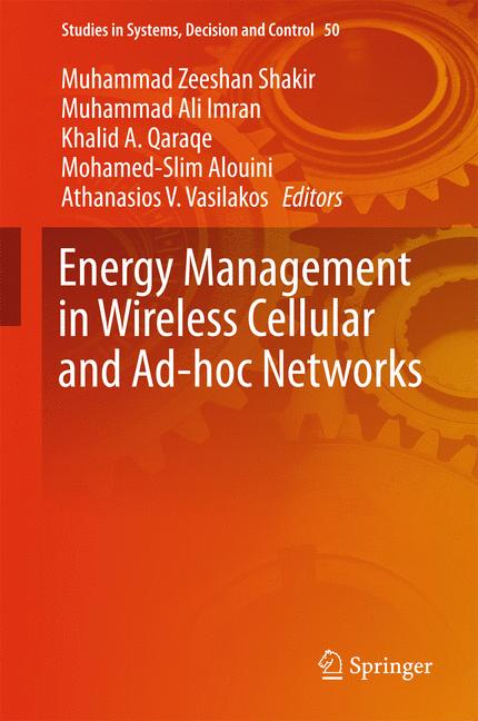 Cover of 'Energy Management in Wireless Cellular and Ad-hoc Networks'
