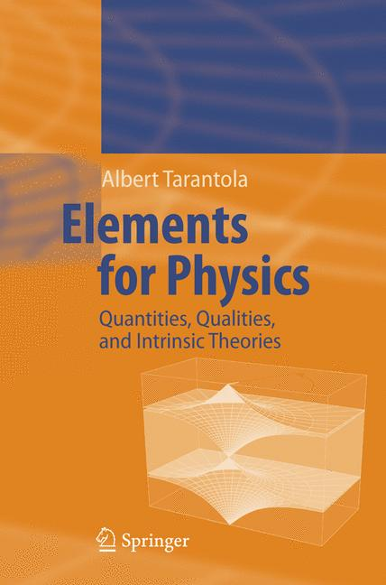 Cover of 'Elements for Physics'