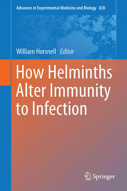 Cover of 'How Helminths Alter Immunity to Infection'