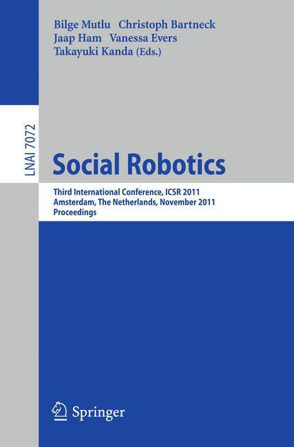 Cover of 'Social Robotics'