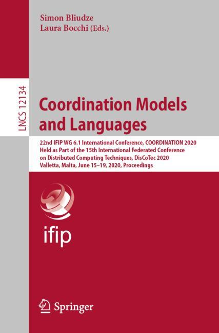 Cover of 'Coordination Models and Languages'