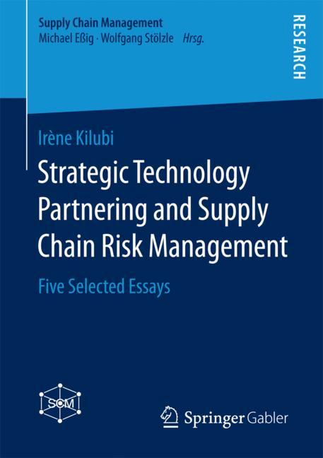 Cover of 'Strategic Technology Partnering and Supply Chain Risk Management'