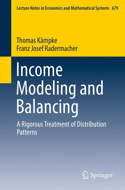Cover of 'Income Modeling and Balancing'