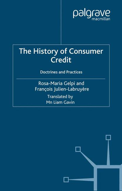 Cover of 'The History of Consumer Credit: Doctrines and Practices'