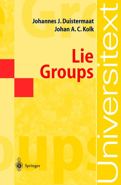 Cover of 'Lie groups'